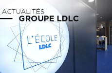 Inauguration de L'École LDLC