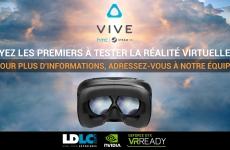 LDLC.com fait tester la réalité virtuelle dans sa boutique de Vaise (Lyon)