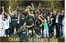 LDLC.com fier de l'exploit de l'ASVEL sacré champion de France 2016 !