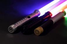 Le 1er sabre laser ultra réaliste imaginé par l'équipe R&D du Groupe LDLC, présenté au CES de Las Vegas 2019