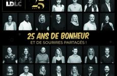Le Groupe LDLC, pionnier du e-commerce français souffle ses 25 bougies !