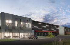 À Saint-Quentin-Fallavier, sur son futur site de distribution urbaine et logistique de près de 90000 m², SEGRO construit un premier bâtiment de 28000 m² pour le compte de Groupe LDLC