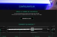 SOLAARI, la marque française de sabre connecté, lance son configurateur pour un sabre laser sur-mesure !